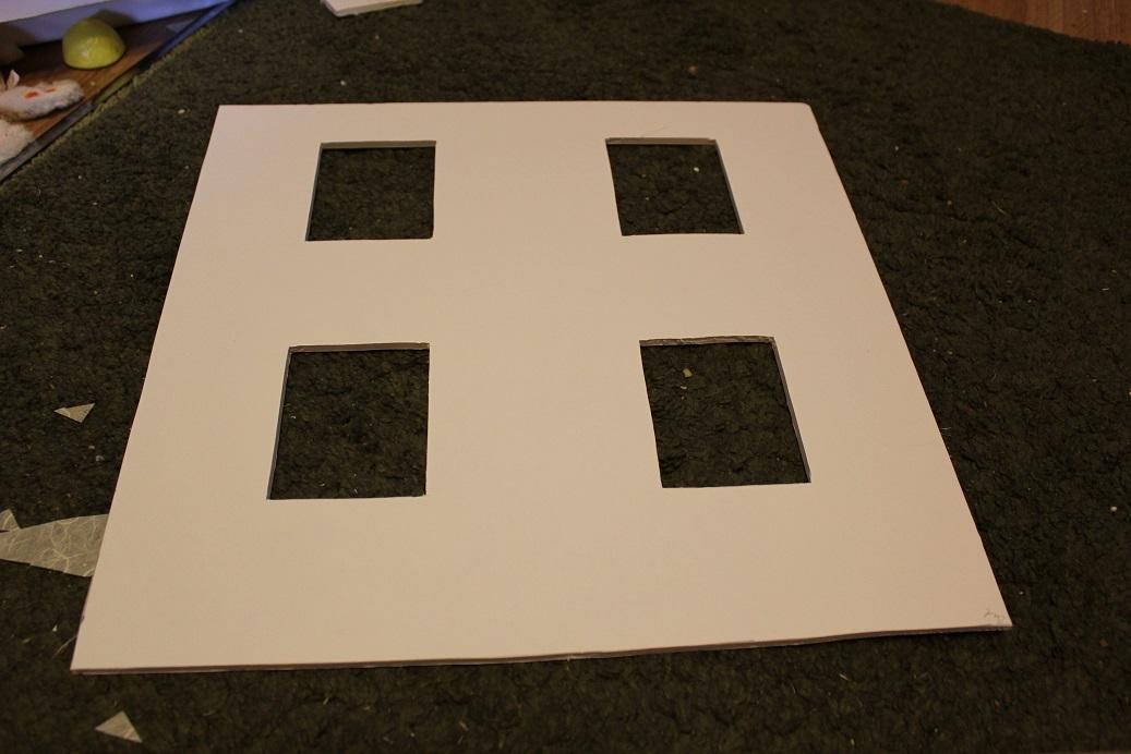 how to cut foam board