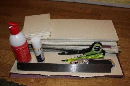 folding foamboard dollhouse 3