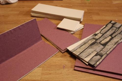 folding foamboard dollhouse 4