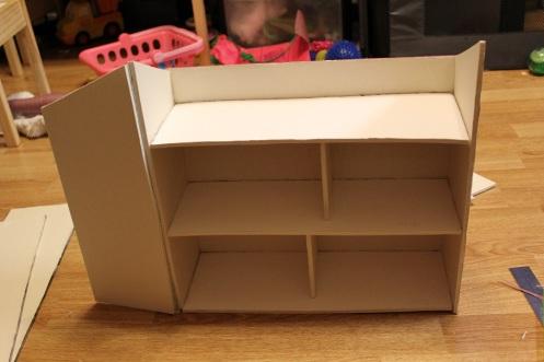 folding foamboard dollhouse 6