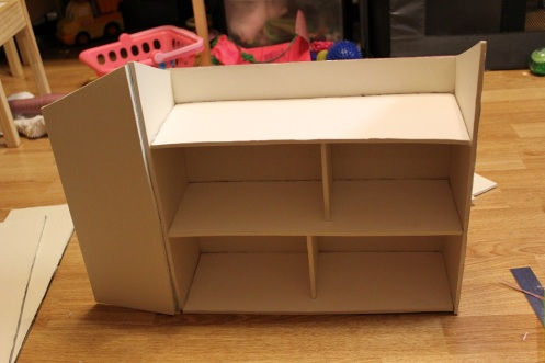 folding foamboard dollhouse 6