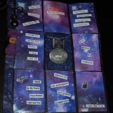 Sci-fi Theme, with blurbs on the backs of the cards about the films and tv shows